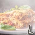 L comme lasagne